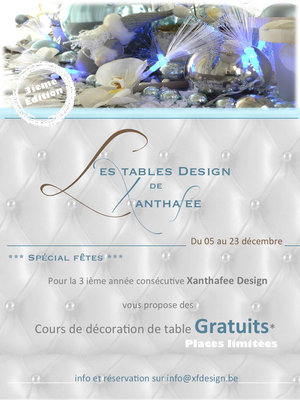 7.cours gratuits de décoration de table | décoration